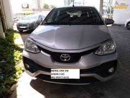 Oportunidade Toyota Etios sedan 1.5 xls - Andre Luis 081- *