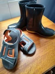 Galocha e sandália