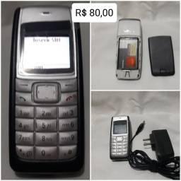 Celulares Nokia simples um chip(LEIA À DESCRIÇÃO DO ANÚNCIO)