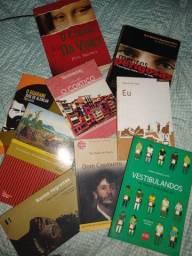 Livros paradidáticos e literários
