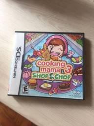 Jogo Nintendo DS - Cooking Mama 3 Shop e Chop - Perfeito Estado