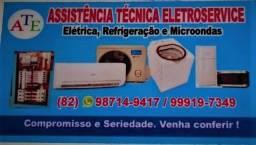 Instalação e manutenção em Ar-condicionados, Geladeiras, Freezers E Máquinas de lavar