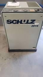 Compressor de ar de Parafuso Schulz 15 hp