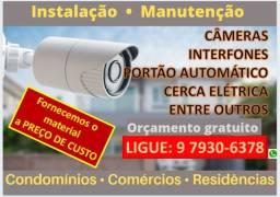 Segurança Eletrônica Condominial e residêncial