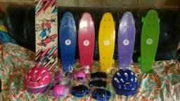 Skate cruyser várias cores