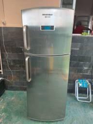 Refrigerador Brastemp Frost Free BRX50CR Gourmand com Painel Eletrônico Evox - 432 Litros