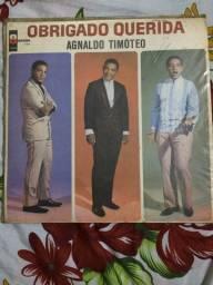 Lp Vinil Disco Agnaldo Timóteo - Obrigado Querida ? 1979