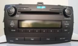 Radio Original Corolla 2010 a 2013. (Novo)