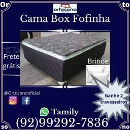 Entrega Grátis em Toda Manaus, Cama Fofinha D28 Espuma selada Com Pillow