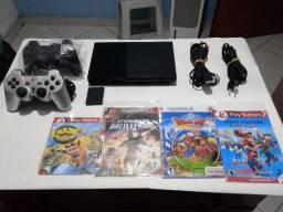 Playstation 2 completo e desbloqueado