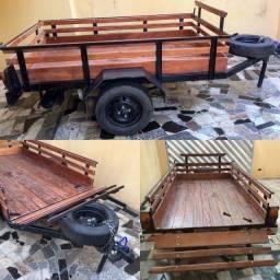 Aluguel de carretinhas reboque para automóveis em Limeira SP