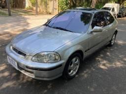 Honda Civic VTI 1998 com 75.000 km Única dona