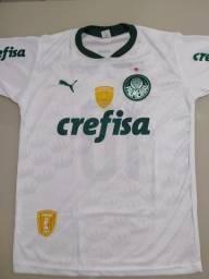 Camisa branca do Palmeiras 2021