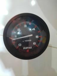 Tacômetro/ conta giro mercury 6000 rpm novo