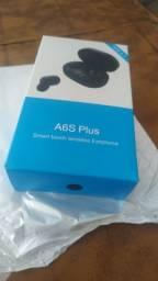 Fones bluetooth A6s plus