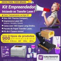 Kit Empreendedor: Iniciando no Transfer Laser I