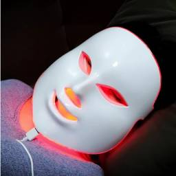 Máscara de Led Facial de 7 Cores