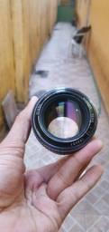 Vendo ou Troco! Lente 50mm 1.2  nikkor com anel canon
