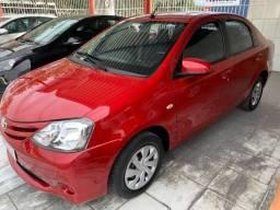 Toyota Etios XS Sedan Automático Único Dono!!!
