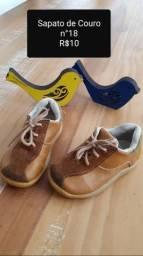 Sapato de couro, Tam. 18