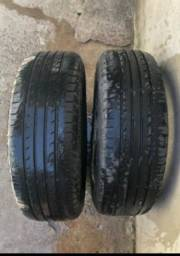 Vendo pneus semi-novos Aro 16 Goodyear