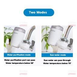 filtro utilizado na torneira com Filtro cerâmico purificador de  água -