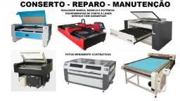 Conserto, Reparo, Manutenção de Máquinas de Corte à Laser