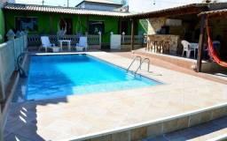 Aluguel Temporada casa com piscina em.Cabo Frio