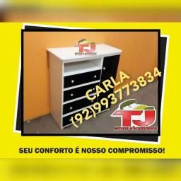 Cômoda sapateira 4 gavetas+;+;