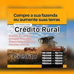 Crédito Rural Aquisição chácaras e fazendas