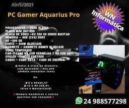 Pc Gamer I5 + RX 550 2G GDDR5