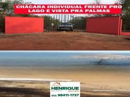 Vendo Chácara já pronta em Luzimangues frente pro Lago