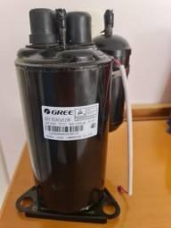 Compressor Rotativo Gree Inverter 12.000 Btuh 220v 60hz R410