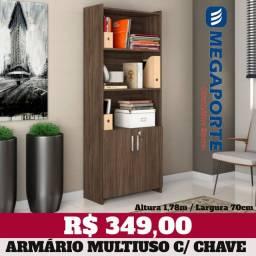O armário de Escritório Multiuso com Chave (3 Cores) Entrega Grátis