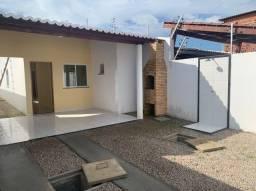 SI - Casa nova 2 quartos, 2 banheiros, churrasqueira, sala, coz, garagem
