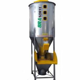 Misturador Vertical para Plásticos 1000 litros