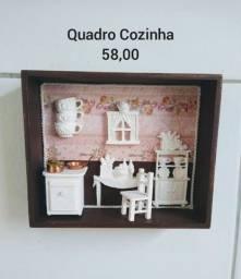 Quadros de decorção, Porta Chaves, Porta vinho e Porta prato decorado
