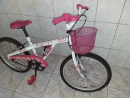Bicicleta Caloi Ceci aro 20 infantil