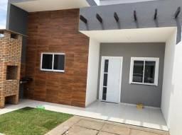 SI - Casa nova 3 quartos, 2 banheiros, primeira parcela só em Novembro