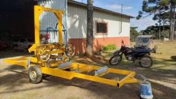Serraria movel com motor a diesel 13 hp NOVA