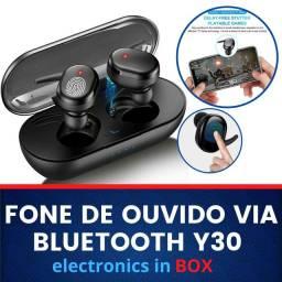 Fone De Ouvido Via Bluetooth Y30.