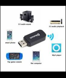 Receptor bluetooth2.0 Music Audio Mono Receiver  A2DP de 3,5 mm USB Wireless