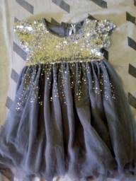 Vestido princesa brilhante