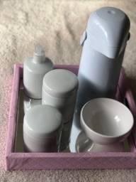 Kit Higiene quarto de Bebê