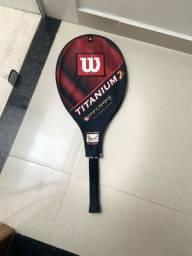 Wilson Raquete de Tênis Platinium c/Capa!
