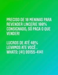Entregamos sacola para toda a região de Curitiba