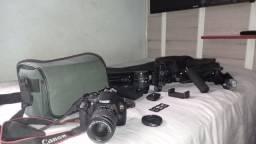 Canon T6 Rebel EOS(Kit Fotografia e vídeo)