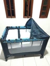 Berço Portátil Happy Cosco - Azul