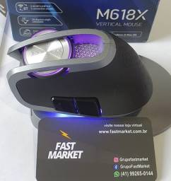 Mouse M618x Sem Fio Delux Recarregável  Curitiba Centro