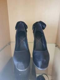 Sapato Preto Datelli Tamanho 36